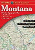 Montana Atlas & Gazetteer: Delorme, null: 0019916003395: Amazon.com: Books