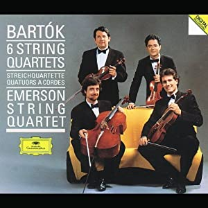 Bela Bartok: The 6 String Quartets - Emerson String Quartet