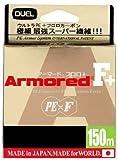 デュエル(DUEL) ライン ARMORED F+ 150M 0.3号 GY