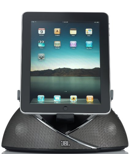 JBL On Beat Loudspeaker Dock for iPad, iPod, and iPhone (Black)