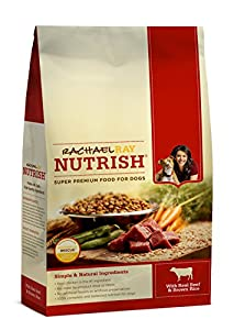 Rachael Ray Nutrish Dry Dog Food, 'Beef & Rice Recipe' 28-Pound