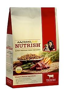 Rachael Ray Nutrish Dry Dog Food,  Beef & Rice Recipe, 14-Pound Bag