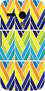 Snoogg Mult Pattern Window 2572 Case Cover For Motorola G