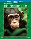 Cover art for  Disneynature: Chimpanzee  (Two-Disc Blu-ray/DVD Combo in Blu-ray Packaging)