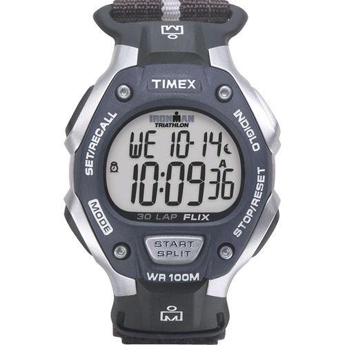 Timex Mens Ironman 30-Lap Velcro Fast Wrap Watch T5H421