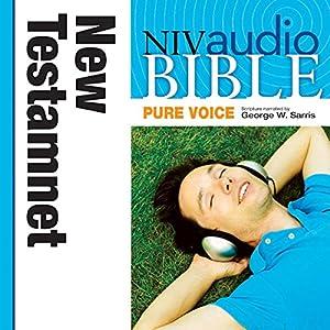 NIV Audio Bible, Pure Voice: New Testament Audiobook