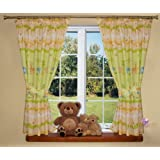 Baby | Childrens Room Curtains For Girls & Boys Bedroom (Safari)