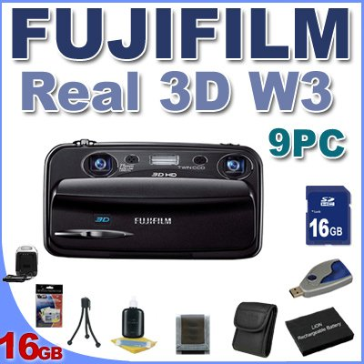 Fujifilm FinePix Real 3D W3 Digital Camera BigVALUEInc