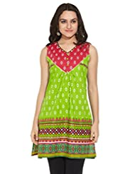 ANAHI Ladies Cotton Printed KURTA - B00QGSVF72