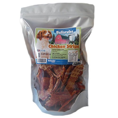 Bellyrubs Chicken Strips Dog Jerky Treats, 20 oz