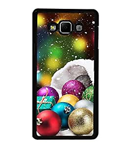 Vizagbeats Christmas Decorative Balls Back Case Cover For Samsung Galaxy A8