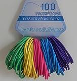 Basic Ponytail Holders 100 Pack (Primary)