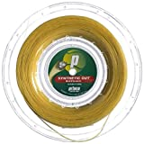 Prince Synthetic Gut Multifilament 16g Gold Tennis String Reel by Prince