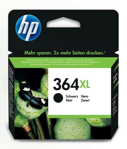 HP 364XL Schwarz Original Tintenpatrone mit hoher Reichweite