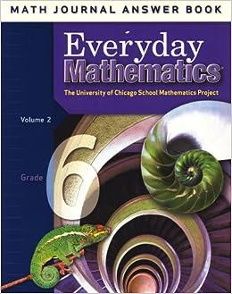 Everyday Mathematics: Math Journal Answer Book, Grade 6 ...
