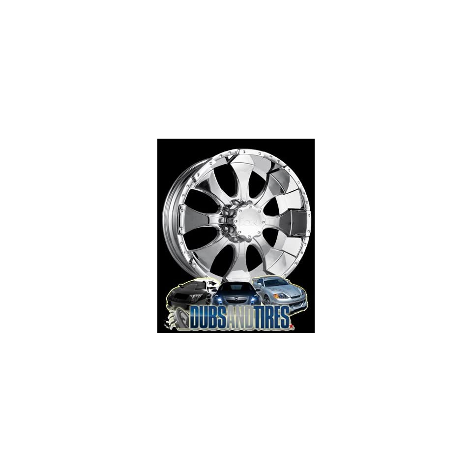 20 Inch 20x9 Ion Alloy wheels STYLE 137 Chrome wheels rims