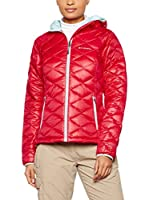 Columbia Chaqueta Guateada Trask Mountain 650 Turbo Down (Rosa Oscuro)
