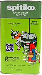 Spitiko Greek Extra Virgin Olive Oil 3 liter can