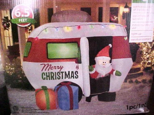 Airblown/ Inflatable Merry Christmas RV Camper