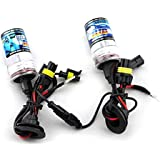 LUO H11 6000K Xenon HID Lights Bulb lamp For Car Single Beam Replacement Headlight 35W