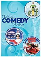 Holiday Comedy Collection Elf National Lampoons Christmas Vacation Fred Claus by Warner Home Video