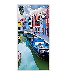 Boats 2D Hard Polycarbonate Designer Back Case Cover for Sony Xperia Z5 :: Sony Xperia Z5 Dual