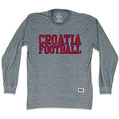 Croatia Nations Soccer Long Sleeve T-Shirt