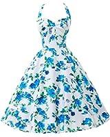 Grace Karin Halter Pinup Rockabilly Vintage Swing Dress Party Dress