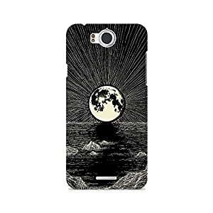 Mobicture Moon Premium Designer Mobile Back Case Cover For InFocus M530