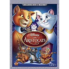 The Aristocats (Two-Disc Blu-ray/DVD Special Edition in DVD Packaging)