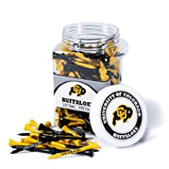 Brand New University of Colorado Buffaloes 175 imprinted Tee Jar by Things for You