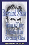 img - for Bernard Shaw: Slaves of Duty and Tricks of the Governing Class (1880-1920 British Authors) book / textbook / text book