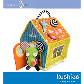 Zolo Kushies Digs Magnetic Shape-Sorting Dog House (80032)