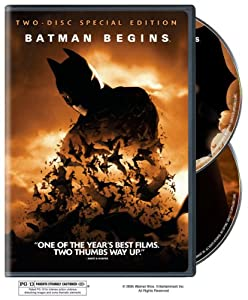 Batman Begins Two-disc Special Edition at Gotham City Store