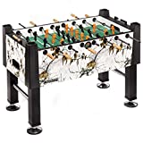 Carrom Real Tree Xtra Snow Foosball Table