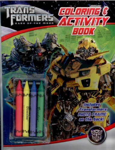 Transformers Dark of The Moon Coloring Book - 1