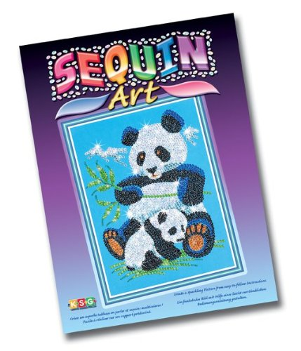 Sequin Art and Beads Panda [Toy]