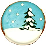 Pawsitively Gourmet Snowglobe Cookies with Chicken Livers for Dogs (Pack of 20)