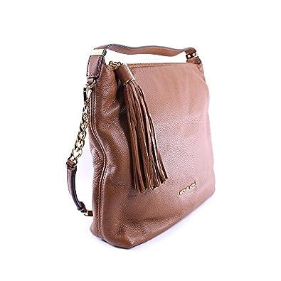 Michael Kors Weston Women's Large Shoulder Bag Purse Handbag Brown