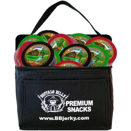 Buffalo Bills Beef Jerky Chew 6-Pack Gift Cooler