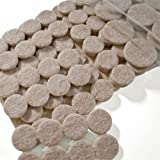 Felt Pads Value Pack (Furniture and Floor Protectors) 226 pcs of assorted sizes ~ Cleverbrand