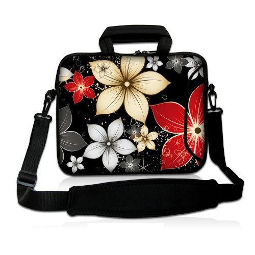 "17"" 17.3"" 17.4"" Inch Neoprene Notebook Laptop Soft Bag Sleeve Case Cover Pouch With Adjustable Shoulder Strap For Apple Macbook Pro 17 /Hp Envy 17 Series/ Pavilion Dv7/Dv7T/G72/G72T/G7T/M7 Series / Dell Inspiron 17 17R I17Rm I17Rv Xps 17 Series/Asus Rog G front-278627"