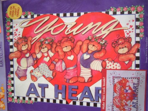 YOUNG AT HEART - IRON ON TRANSFER FROM PLAID #57626