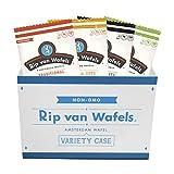 Rip Van Wafels Snack Wafels, 4 Flavor Variety Pack, 1.2oz, 64 Count