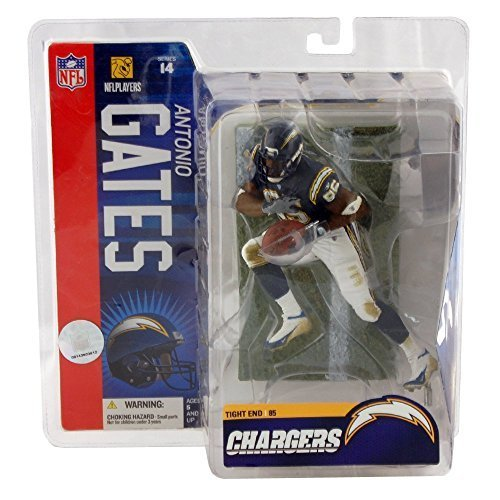 McFarlane NFL Football Series 14 – Antonio Gates (San Diego Chargers) Chase Variant with Dark Blue Jersey by Unknown bestellen