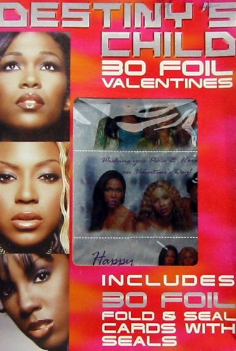 Destiny's Child 30 Foil Valentines - 1