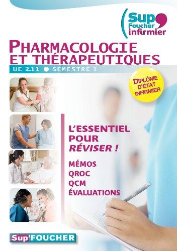 Sup Foucher'infirmier Pharmacologie et thérapeutiques UE 2.11 semestre 1