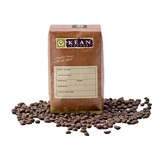 Kean Coffee, Golden Mean Espresso Blend 12 Oz Bag, Whole Bean Coffee