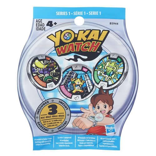 Yokai - Sobres sorpresa medallas (Hasbro B5944EU4)