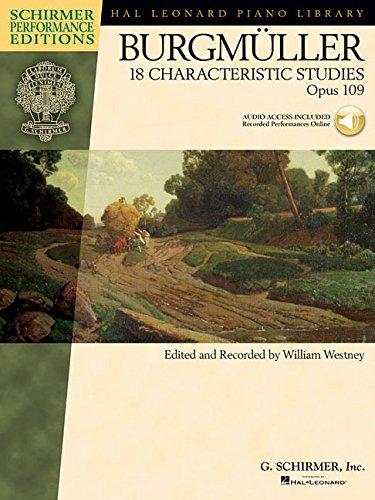 18 Characteristic Studies, Op. 109 (Schirmer Performance Editions)